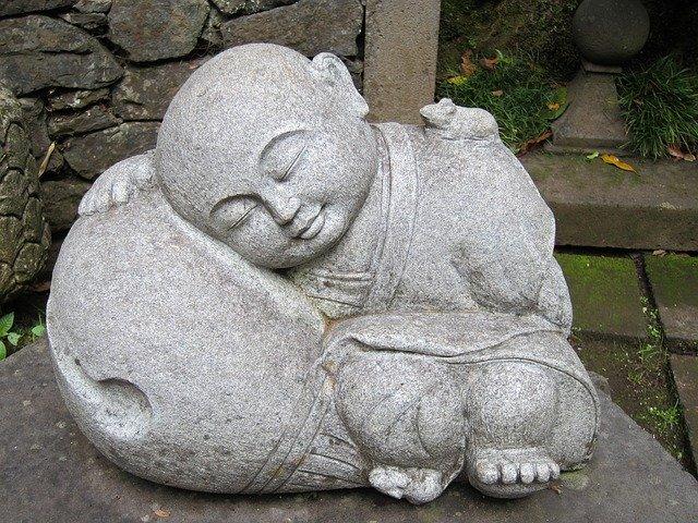 Sleeping Jizo