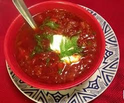 Beet Borscht for a Spring Liver Cleanse
