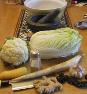 Veggies for fermentation