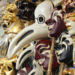 Mardi-gras Plague masks
